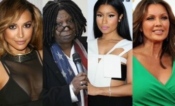 Naya Rivera, Whoopi Goldberg, Nicki Minaj, Vanessa Williams