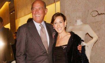 Oscaras de la Renta ir Sarah Jessica Parker