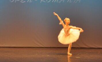 Lietuvaitės Pasaulio baleto konkurse Rumunijoje