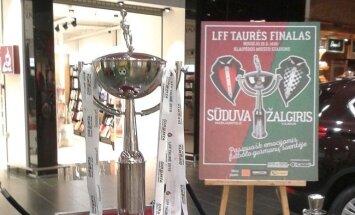 LFF taurė atkeliavo į Klaipėdą (LFF nuotr.)