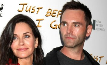 Courteney Cox ir Johnny McDaidas