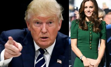 Donaldas Trumpas, Kate Middleton