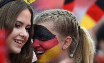 Vokietijos rinktinės sirgalės