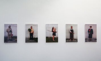 """Ramunės Pigagaitės paroda """"Žmogus. Teatras. Portretas"""""""