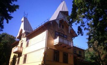 Restauruota istorinė Palangos vila Anapilis