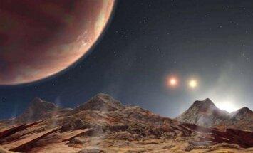 Trijų saulių sistema