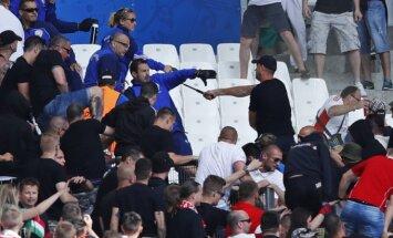 Vengrijos fanų ir apsaugos konfliktas