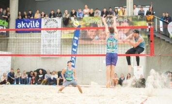 Paplūdimio tinklinio turnyras DELFI sporto centre