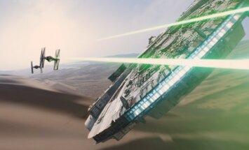 Kadras iš filmo Žvaigždžių karų: galia nubunda