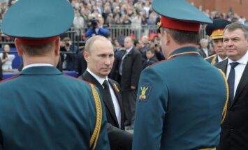 V. Putinas Pergalės dienos parade Maskvoje
