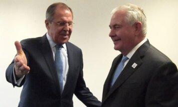 Rexas Tillersonas ir Sergejus Lavrovas