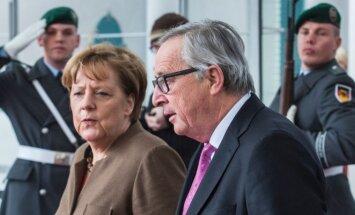 Angela Merkel, Jeanas-Claude'as Junckeris