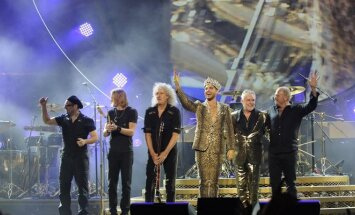 "Legendiniai ""Queen"" ir Adamas Lambertas surengs koncertą Taline"