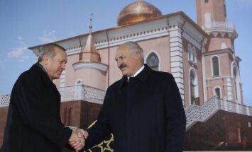 R. T. Erdoganas ir A. Lukašenka