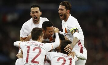 Ispanijos futbolo rinktinės triumfas