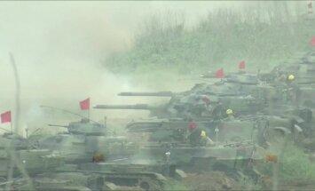 Taivane - pasirengimas atremti galimą Kinijos invaziją