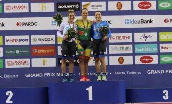 Simona Krupeckaitė (dviračių sporto klubo Minsk nuotr.)