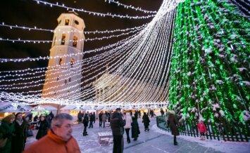 Vilniuje uždaromas priėjimas prie Kalėdų eglutės