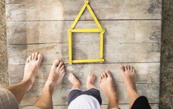 5 klaidos, kurių reikia vengti, statant pirmą savo namą