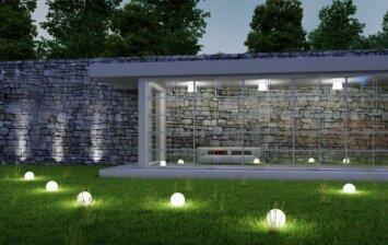Kaip išsirinkti lauko šviestuvus ir įrengti sodo apšvietimą