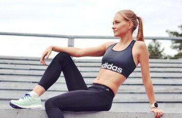 Sportininkės V. Žūsinaitės patarimai, kaip pasiruošti bėgimui žiemą?