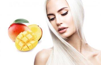 Laimėk plaukus atkuriantį šampūną su mangų sviestu