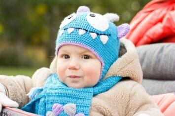 Atmintinė tėveliams: kaip aprengti vaiką, kad jis lauke nesušaltų