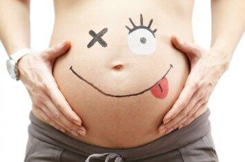 Apie nėštumą pranešė nuotrauka, kurią pamačius daugelis ėmė kvatoti