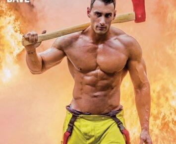 Tai bent: Australijos gaisrininkai atrodo karščiau net už striptizo erelius
