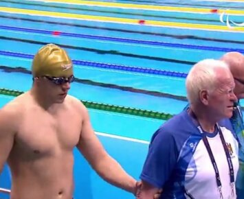 Kontroversija Rio: teisėjai dėl akinių diskvalifikavo neregį plaukiką, 17-metis pagerino Lietuvos rekordą