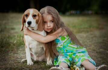 Vaikas ir šuo: ką svarbu žinoti