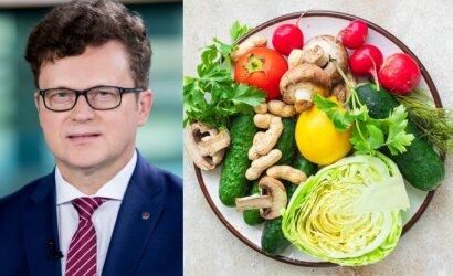 Jei norite numesti svorio, profesorius Rimantas Stukas ragina valgyti šią daržovę: padės kontroliuoti kalorijų skaičių