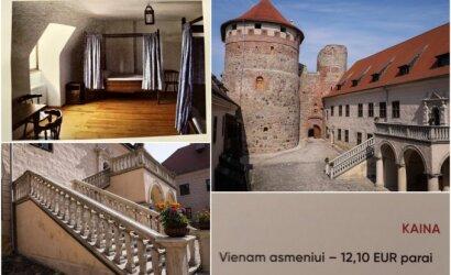 Rado vietą Latvijoje, kur nakvynė pilyje kainuoja vos 12 eurų: čia dar būtinai sugrįšime