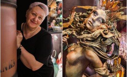 Pasakiško grožio lėles kuriančios menininkės darbų geidžia kolekcininkai iš viso pasaulio: už vieną lėlę pakloja net ir 4000 eurų
