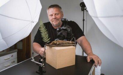 Užvėręs odontologijos kabineto duris Eugenijus nuolat ieško sudėtingesnės veiklos – dabar fotografuoja vabzdžius