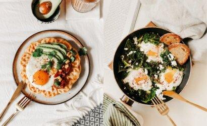 Tegyvuoja pusryčiai! Tinklaraštininkė pasidalijo išskirtinių ir labai gardžių pusryčių receptais
