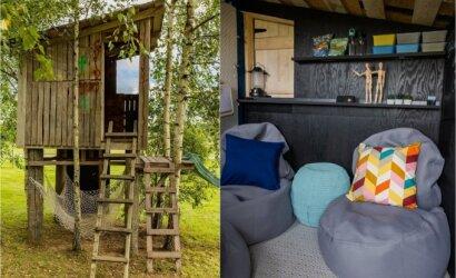 Nepaprastas būdas sukurti laisvalaikio namelį lauke: galite tai padaryti ir neturint elektros