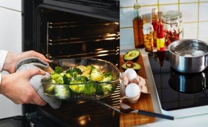 Svarbiausi dalykai, renkantis virtuvės techniką: nepadarykite grubios klaidos