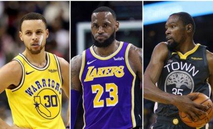 """""""Forbes"""" suskaičiavo NBA žvaigždžių milijonus – dešimtuke yra ir europietis"""