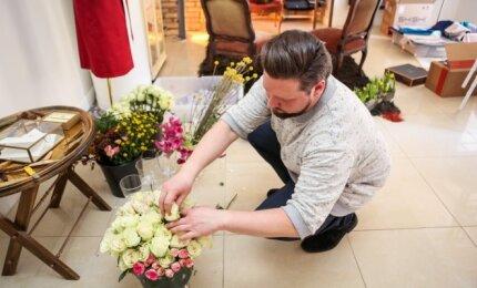 Floristas Andrius Plindinas