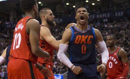 NBA, Raptors - Thunder