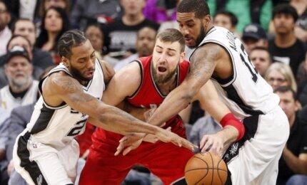 """""""Spurs"""" sirgalių trokštamame Leonardo mainų scenarijuje – Valančiūno atvykimas į San Antonijų"""