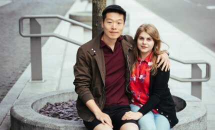 Agata Ivaško su vyru
