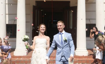 Kaune santuokos žiedus sumainė pramoginių šokių atstovas Osadčenko ir baleto šokėja Mikalajūnaitė