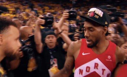 """Brangios akimirkos visai Kanadai: """"Raptors"""" - NBA čempionas"""
