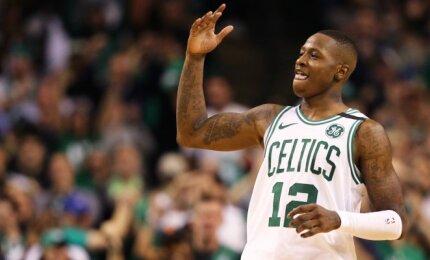 """Reto grožio trileryje Filadelfijos klubą palaužę """"Celtics"""" iškopė į Rytų konferencijos finalą"""
