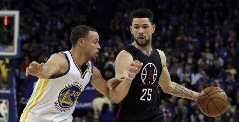 """S. Curry ir K. Duranto duetas vedė """"Warriors"""" link jau 48-os pergalės šį sezoną"""