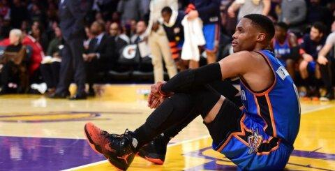 """NBA pripažino teisėjų klaidą: """"Thunder"""" su D. Saboniu turėjo švęsti pergalę"""