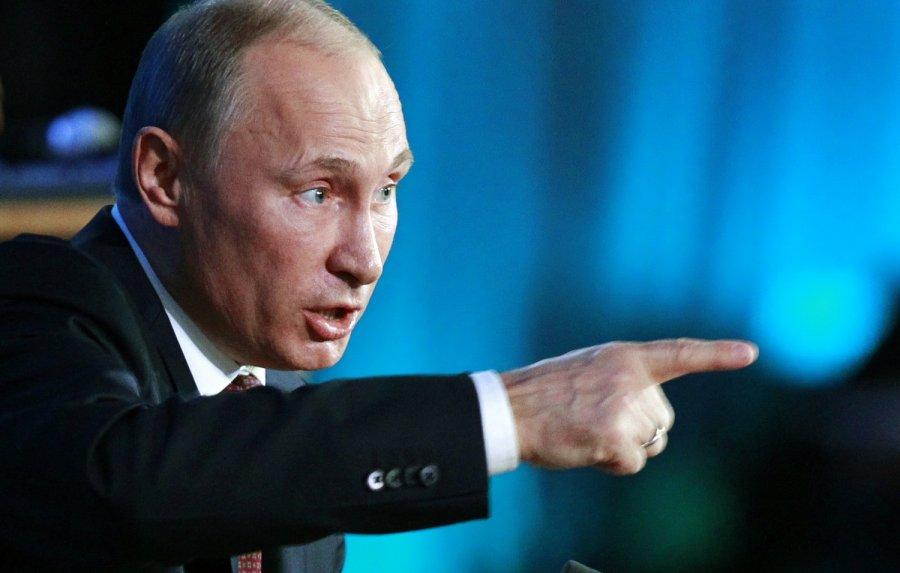 Русофобия внекоторых государствах так ихлещет через край— Путин