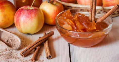 Sausas aromatingas džemas – geriausia, ką žiemai galima pagaminti iš obuolių